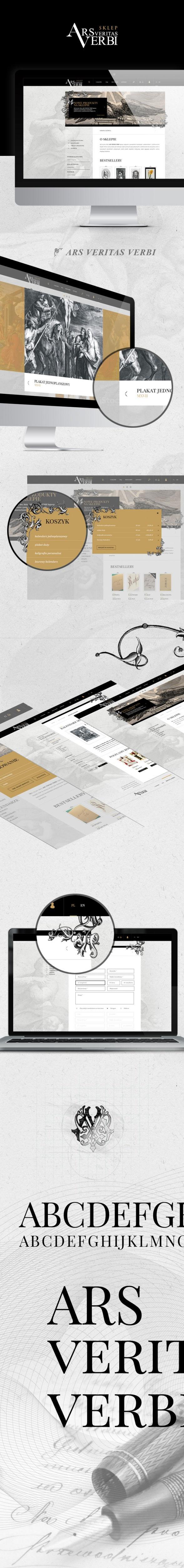Sklep on-line, logo Ars Veritas Verbi sklep  wydawnictwa