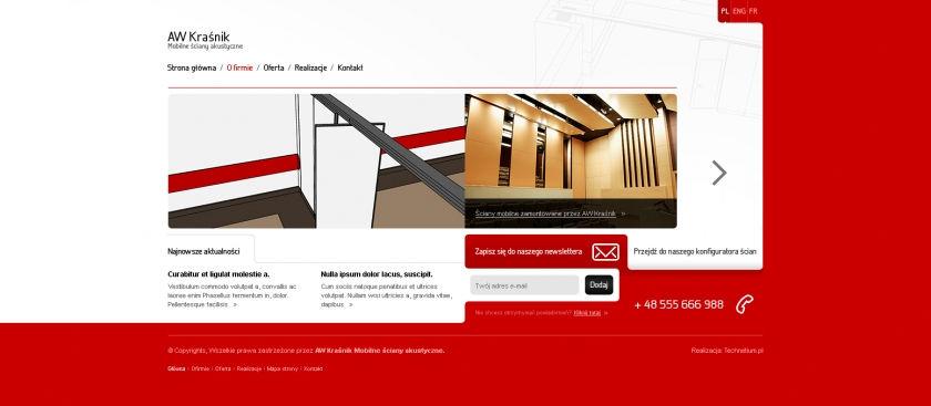 Strona www AW Kraśnik