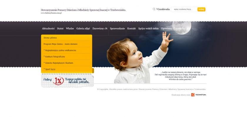 Strona www Bądzmy Razem