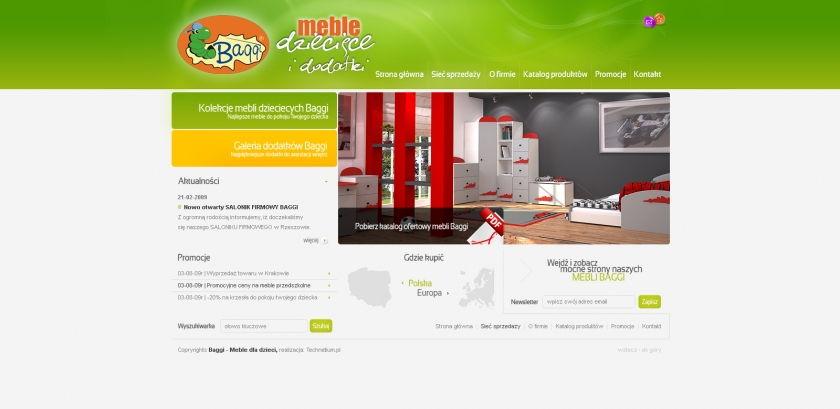 Strona www Baggi