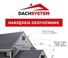 Dach system dedykowane narzędzia