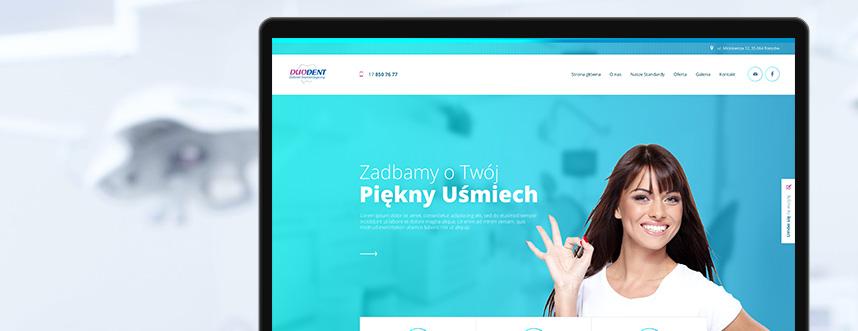 Strona www DuoDent