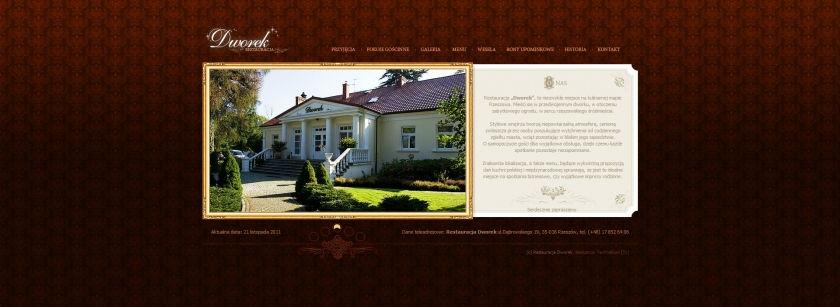 Strona www Dworek