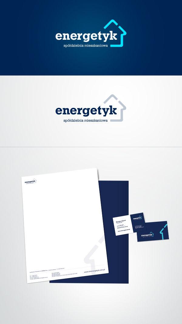 Identyfikacja wizualna, logo ENEREGETYK identyfikacja