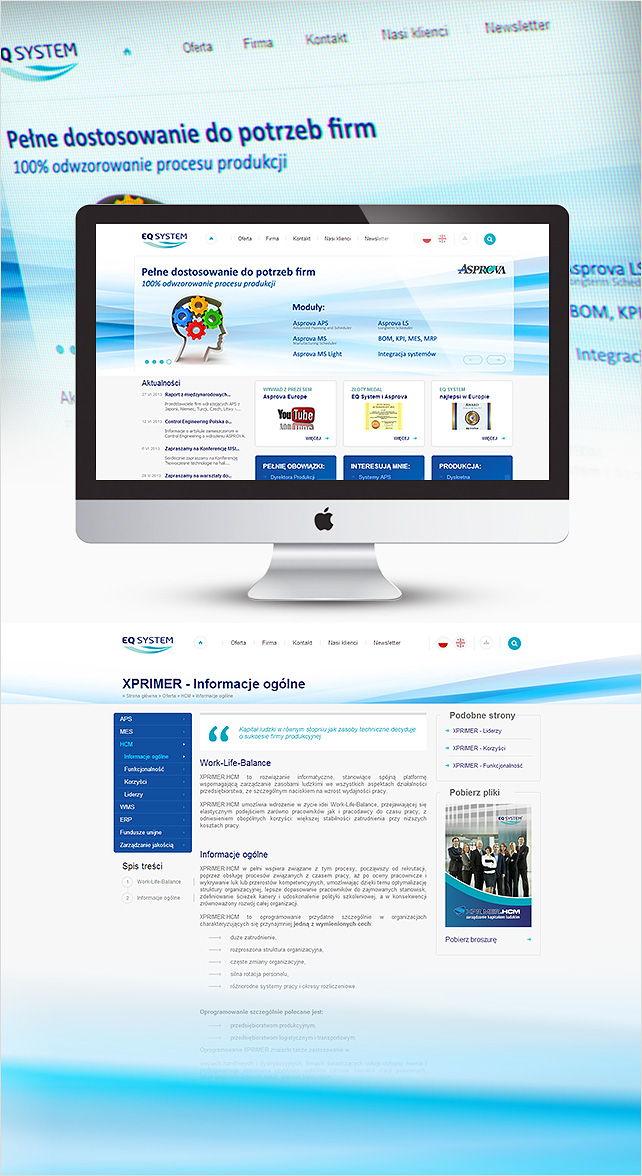 Strona www EQ System
