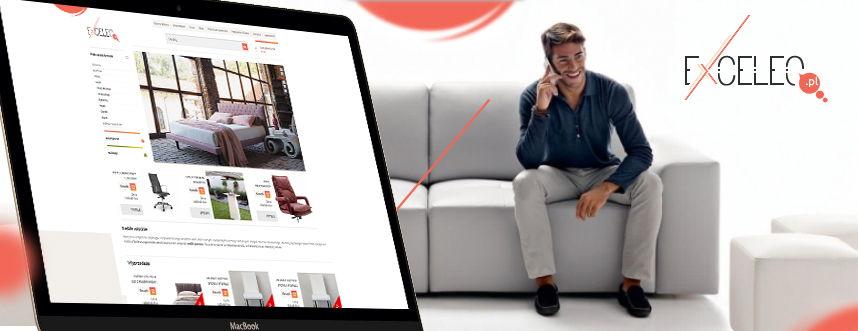 Sklep on-line, logo Exceleo