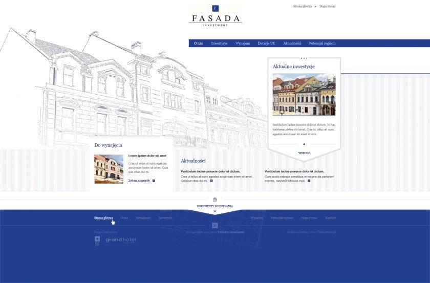 Strona www Fasada Investment
