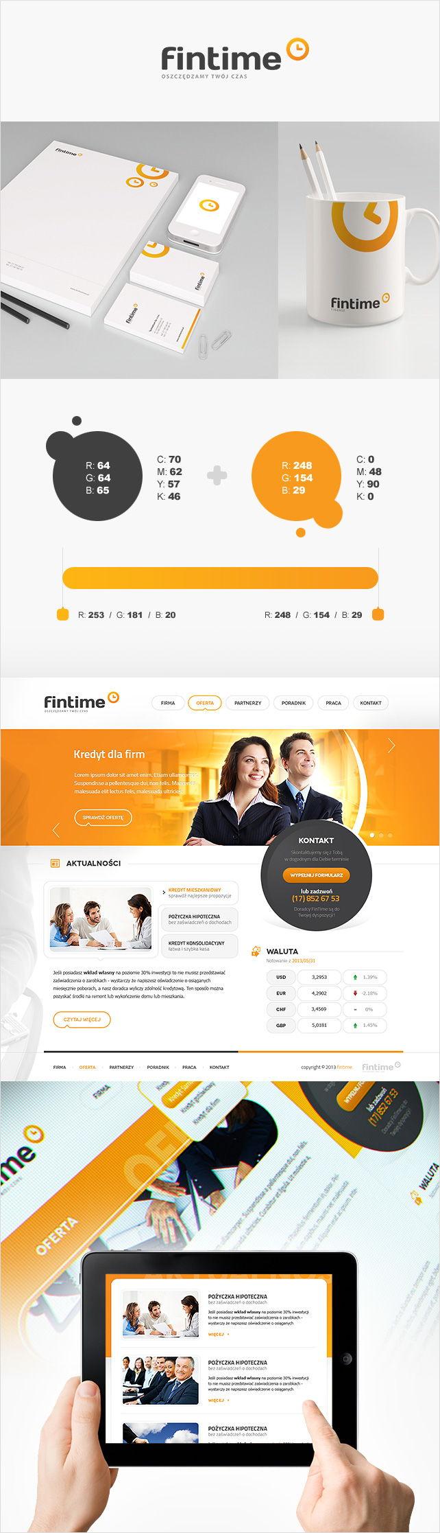 Strona www FinTime doradztwo finansowe
