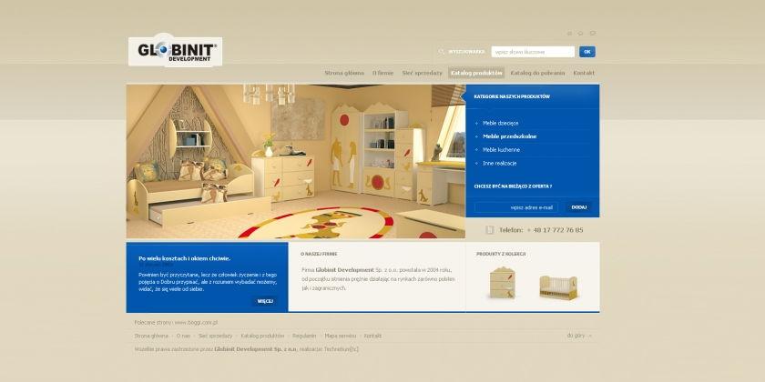 Strona www Globinit