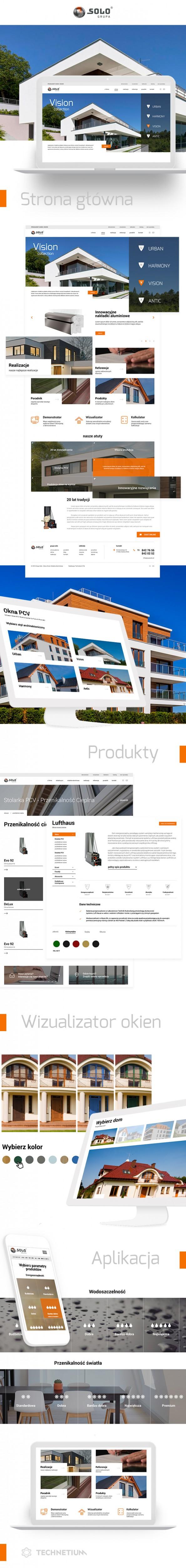 Portal, projekt graficzny Grupa Solo