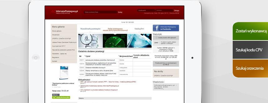 Portal, logo Informator Przetargowy