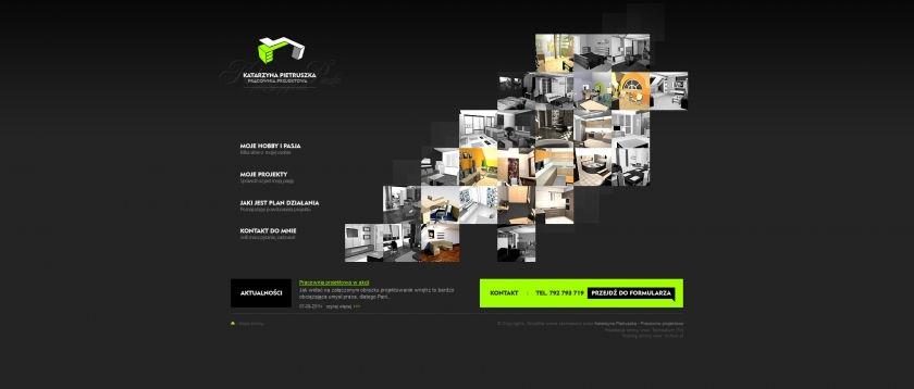 Strona www Katarzyna Pietruszka