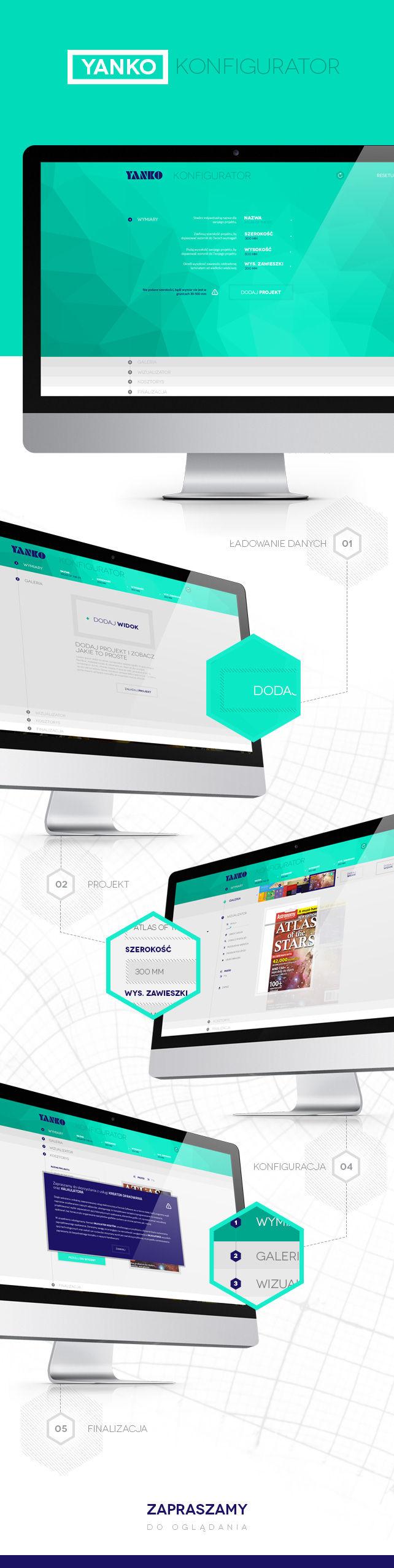 Projekt graficzny, konfiguratory Konfigurator Yanko producent opakowań foliowych