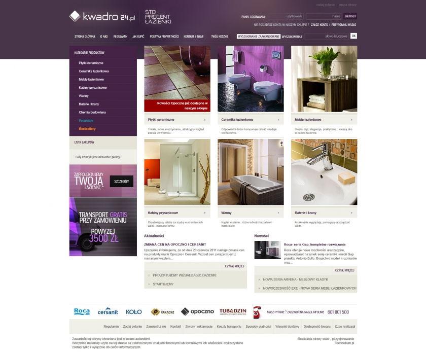 Sklep on-line Kwadro24.pl