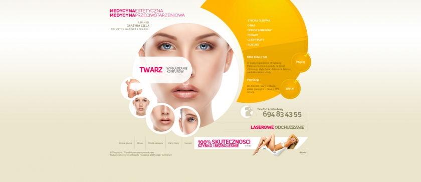 Strona www Medycyna Estetyczna