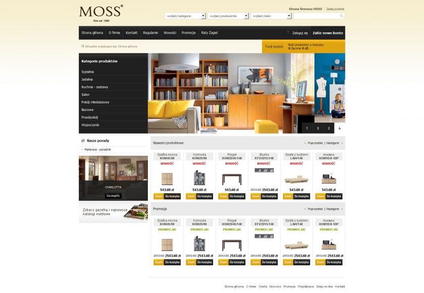 Sklep on-line MOSS