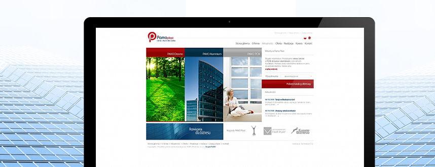 Strona www PAMO-plast