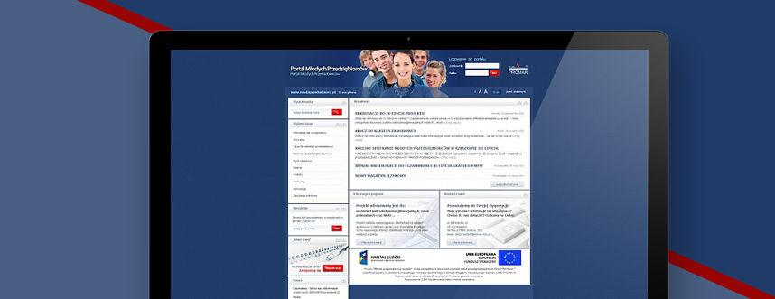 Portal Portal Młodych Przedsiębiorców