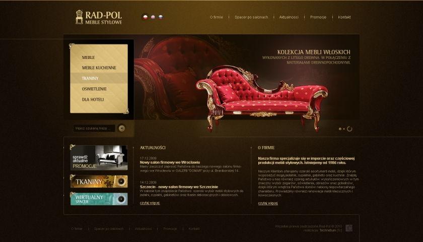 Strona www RAD-POL