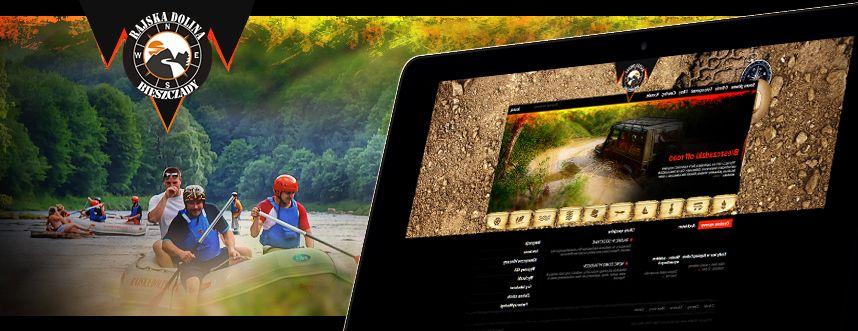 Strona www Rajska Dolina